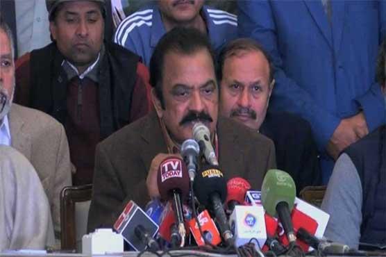 PM's task to woo MQM-P to prove useless: Rana Sanaullah