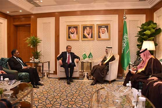 FM Qureshi holds meeting with Saudi counterpart over escalating US-Iran tensions
