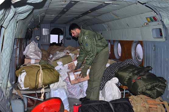 Pak Army's rescue, relief operations underway in snow-rain hit areas