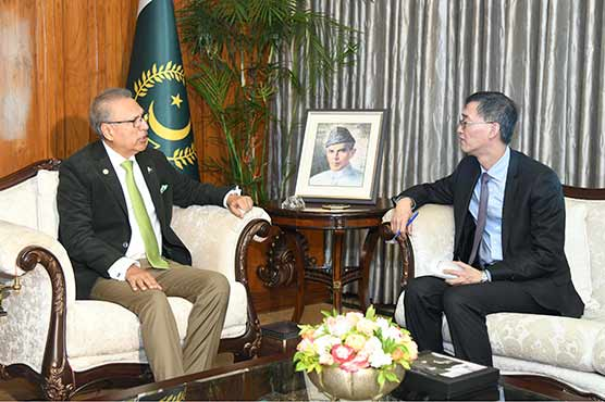 CPEC to play important role in further cementing bilateral ties between Pakistan, China: Alvi
