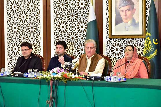 Real face of India stands exposed before world: FM Qureshi