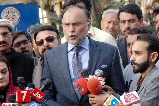 Investigation report on flour crisis should be presented in parliament: Ahsan Iqbal