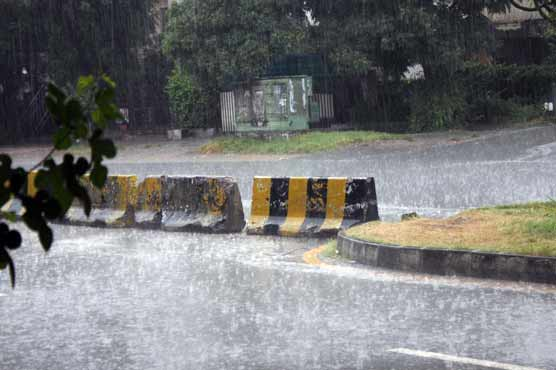 Widespread rain makes weather pleasant across different parts of country