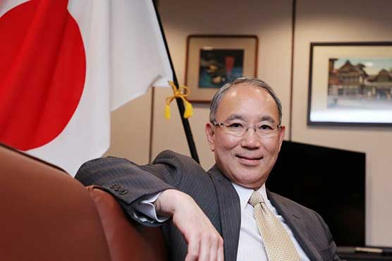 Japanese envoy welcomes resumption of anti-polio drive in Pakistan