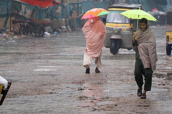 Rain in parts of Punjab turns weather pleasant