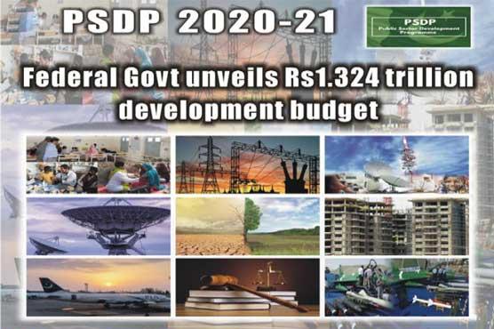 Federal Govt unveils Rs1.324 trillion development budget