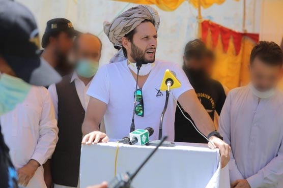 Former Pakistan captain Shahid Afridi tests positive for Covid-19