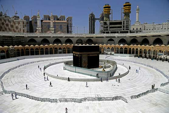 Saudi faces perilous hajj call as virus spikes