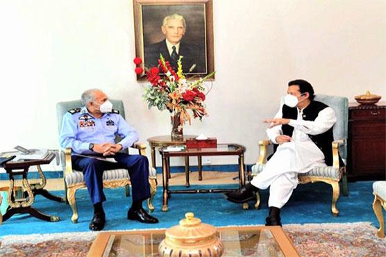 Air Chief calls on PM Imran Khan