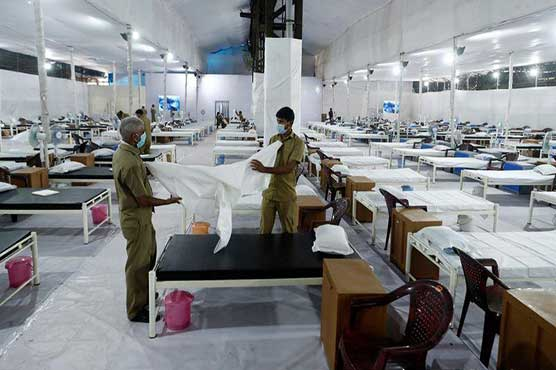 India reports record coronavirus cases embassies warn on stretched hospitals