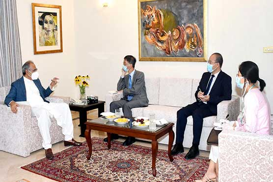 Institutional measures taken to speed up CPEC projects: Hafeez Shaikh