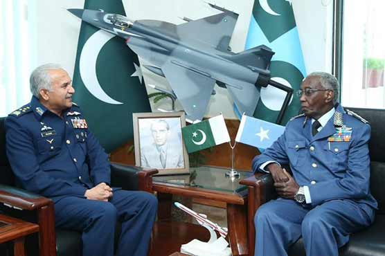 Commander Somali Air Force visits Air Headquarters
