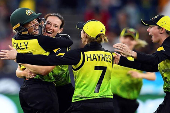 Australia post massive total batting first in T20 World Cup final