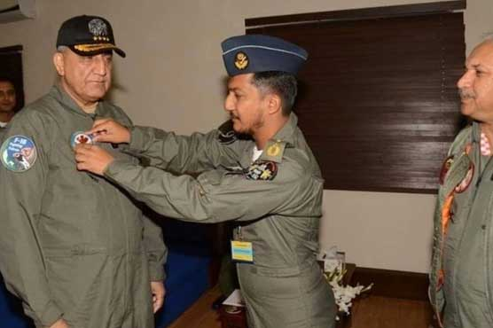COAS pays tribute to martyred Wing Commander Noman Akram