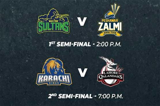 PSL 2020 semi-finalists: Multan Sultans vs Peshawar Zalmi, Karachi Kings vs Lahore Qalandars