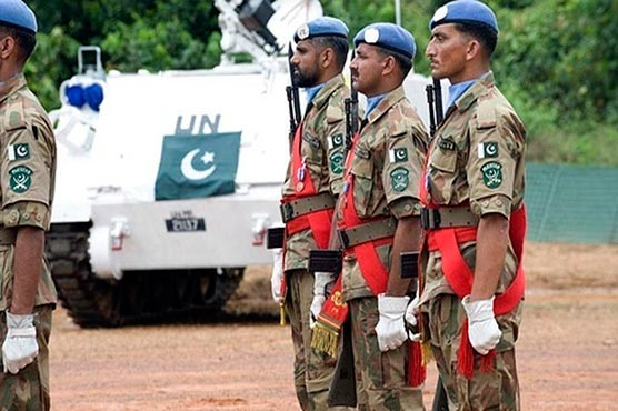 UN hails services of Pakistani Peacekeepers in Congo