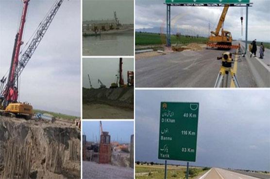 69 percent work on Hakla-DI Khan Motorway completed: Asim Bajwa