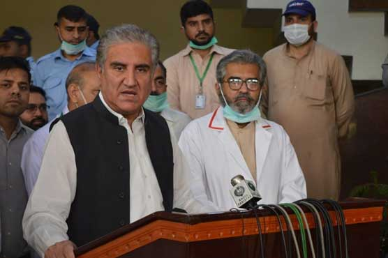 Country's economy cannot afford lockdown for a long period: FM Qureshi