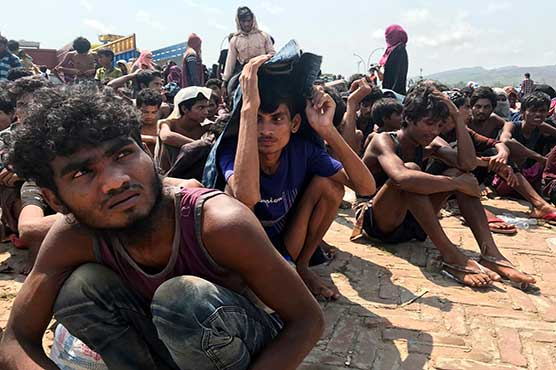 Dozens of Rohingyas from stranded boat land in southern Bangladesh