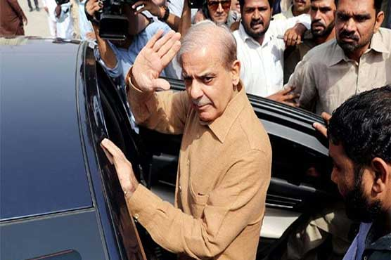 Shehbaz Sharif appears before NAB in assets case