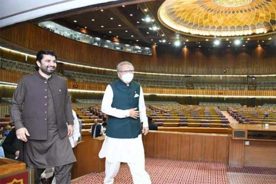 President visits National Assembly to review arrangements for session