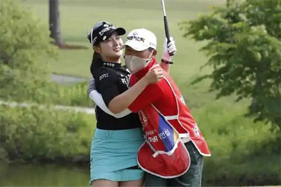 Lim Hee-jeong leads women's golf in South Korea by 3 shots