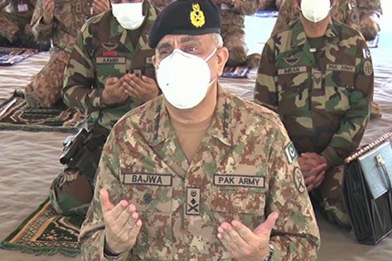 COAS Gen Qamar Bajwa celebrates Eid-ul-Fitr with soldiers at LoC