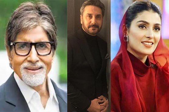 Pakistani, Indian celebrities felicitate Muslims on Eid