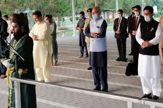 President participates in funeral prayer of plane crash victims