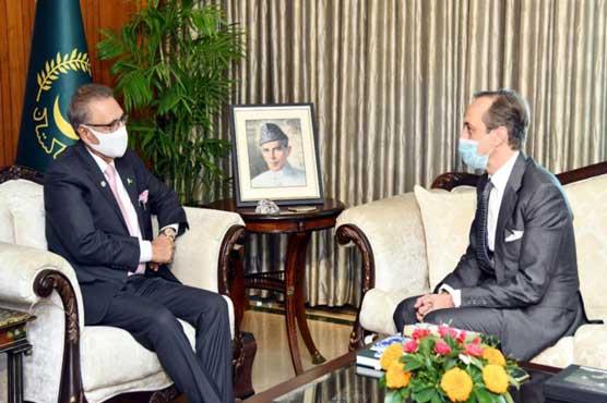 President seeks UN efforts to implement SC Resolutions on IIOJ&K