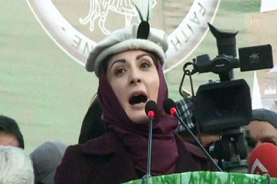 Never accepted 'fake' govt of PTI: Maryam Nawaz