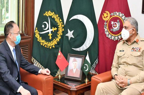 Chinese Ambassador, COAS discuss matters of mutual interest