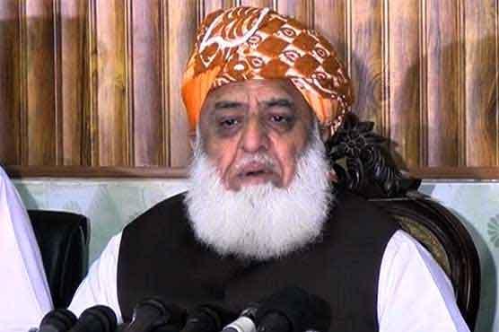 Fazlur Rehman condemns Indian shelling on LoC