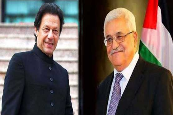 President Abbas praises Pakistan's position in support of Palestine