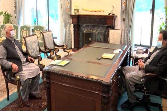 PM Imran, CM Mehmood Khan discuss development projects in KP
