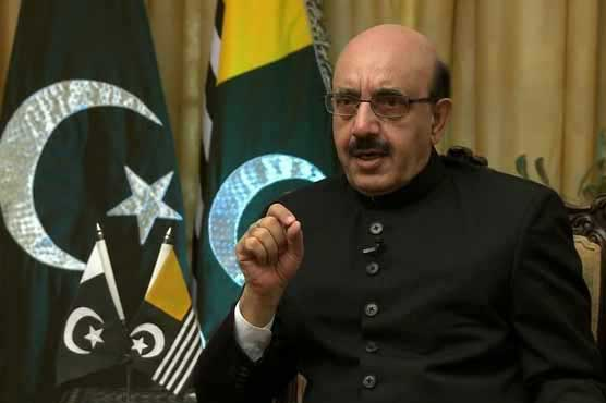 AJK President urges Niger to raise Kashmir issue at African Union forum
