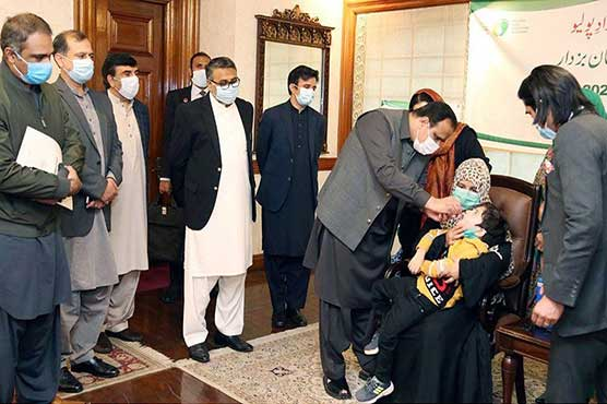 Vaccinating children against Polio must for their health: CM Buzdar