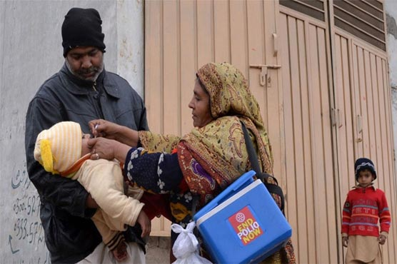 Five-day anti-polio drive begins across country