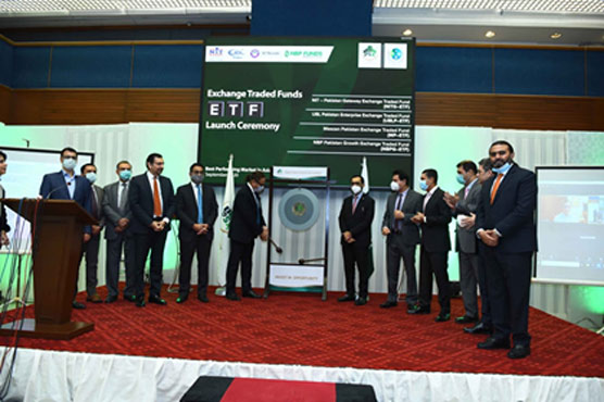 PSX holds gong ceremony to mark launch of ETFs