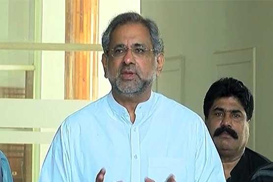 PM Imran behind registration of treason cases, claims Shahid Khaqan Abbasi