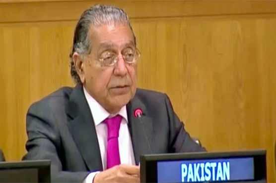 Pakistan urges world to push India to grant Kashmiris right to self-determination