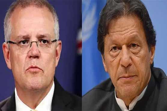 PM Imran, Australian counterpart discuss bilateral ties, int'l issues