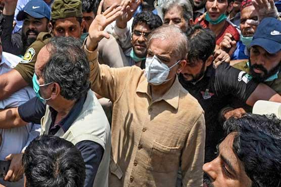 Court extends physical remand of Shehbaz Sharif till Oct 20