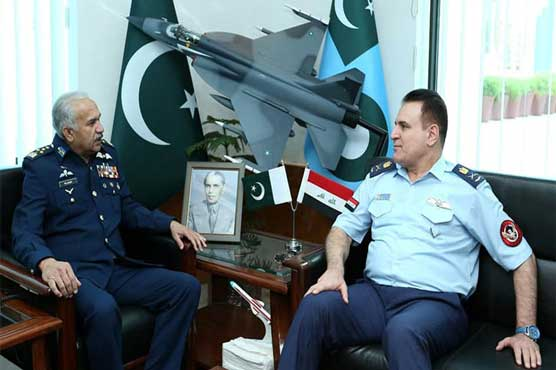 Commander Iraqi Air Force lauds professionalism of PAF