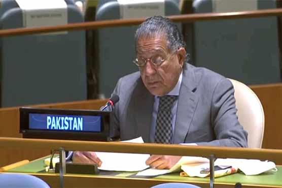 Pakistan highlights India's aggressive actions, military buildup at UN