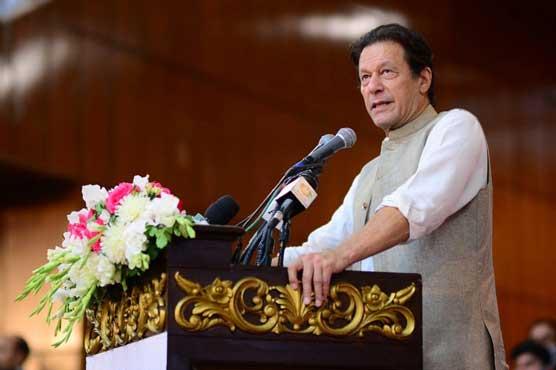 PM Imran bashes Nawaz Sharif over anti-army statement