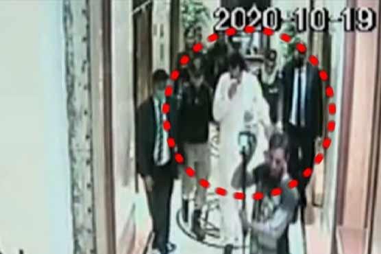 CCTV footage shows events around Capt (r) Safdar's arrest