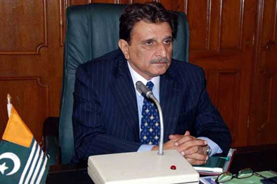 AJK PM urges unity among Kashmiri leadership