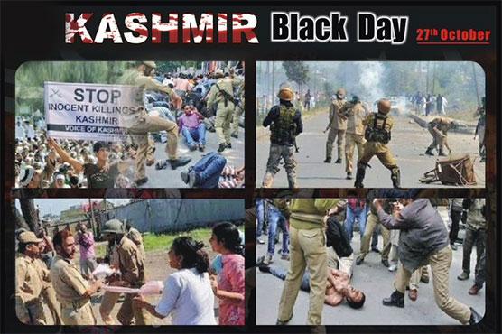 Pakistan, Kashmiris across the world observed Black Day