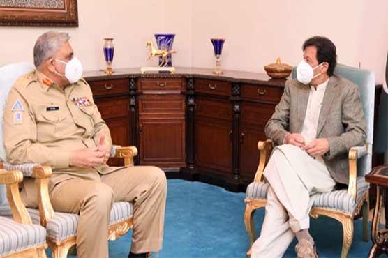 COAS Gen Bajwa calls on PM Imran, discusses security situation